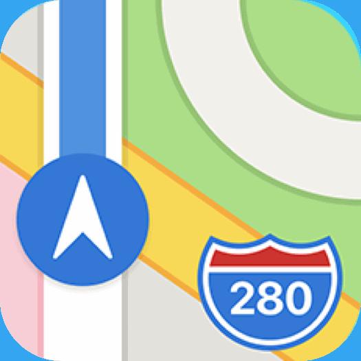 Apple maps app