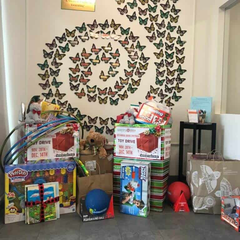 OLLI Toy Drive Donations
