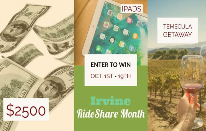 Irvine RideShare Month 2018