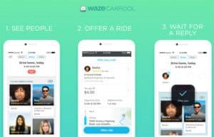 Offering a Waze Carpool Ride
