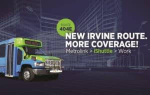 Irvine iShuttle Route 404E