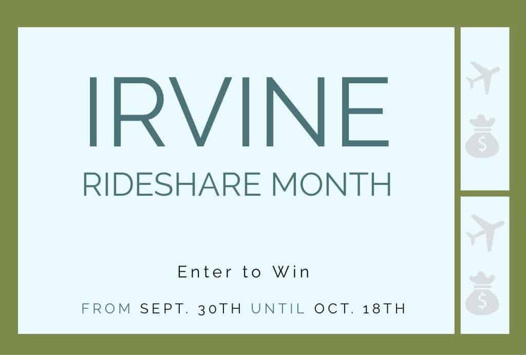 Irvine RideShare Month 2019