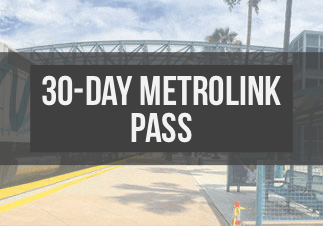 30-Day Metrolink Pass Image