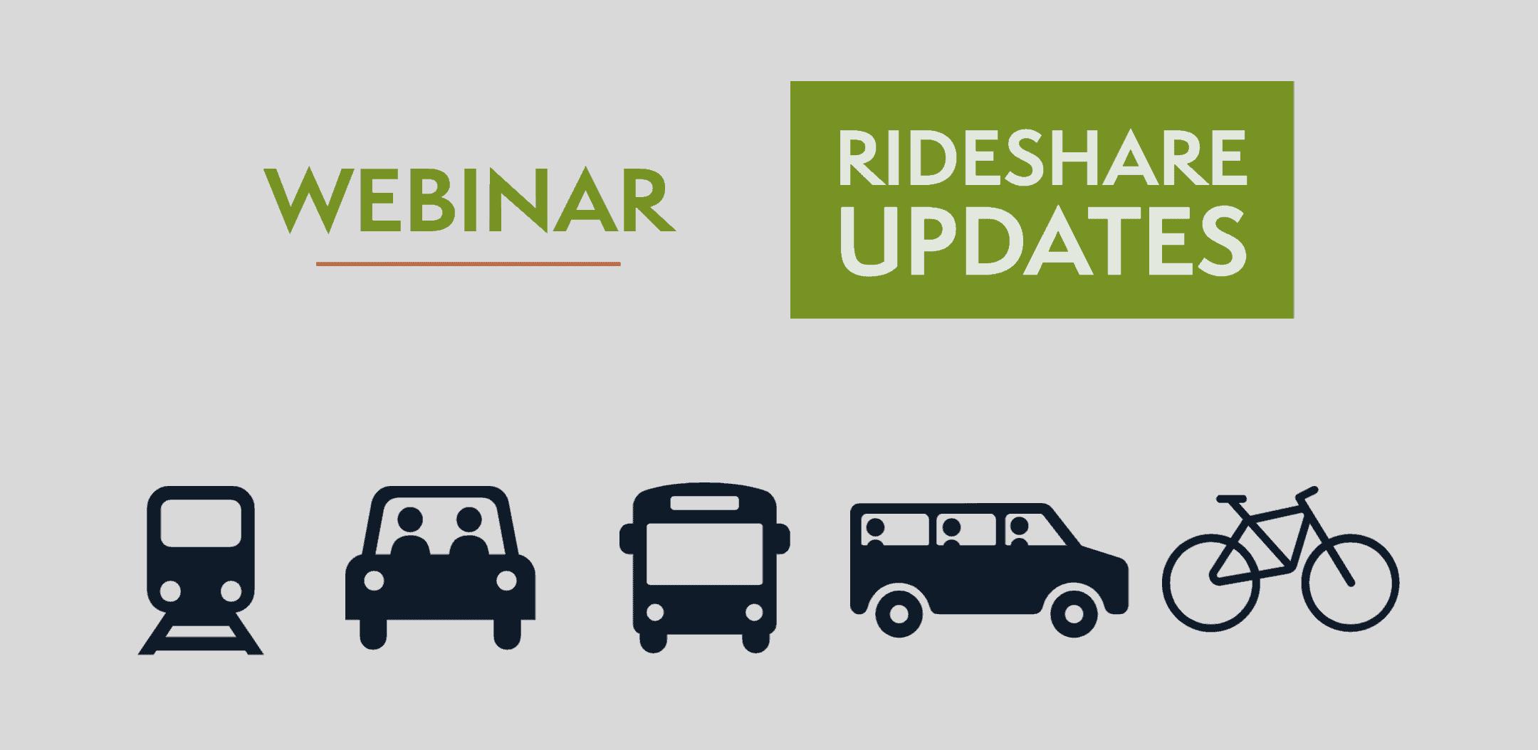 Irvine Rideshare Updates