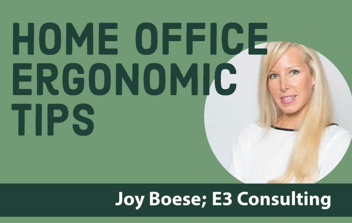 Ergonomics Home Office Tips