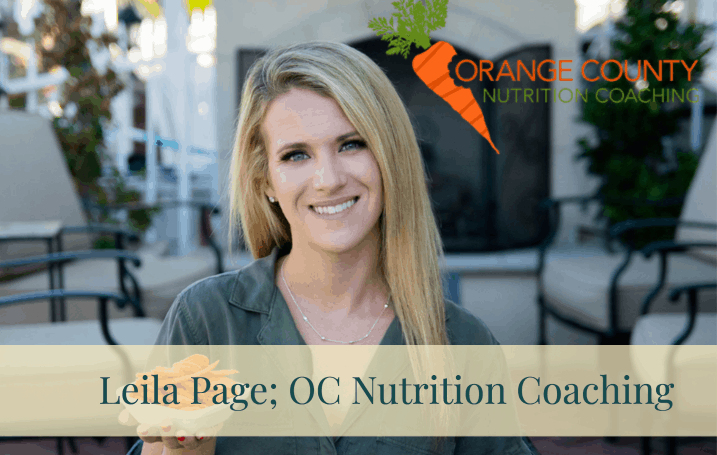 Meal Planning OC Nutrition