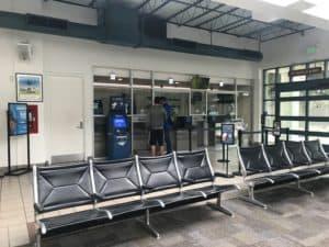 Irvine Station Waiting Room-Amtrak