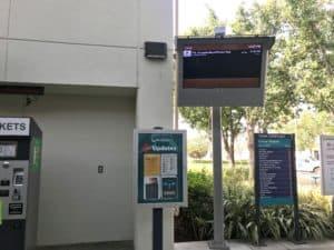 Metrolink Train Status Screens