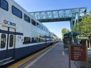 Track 1 Irvine Station