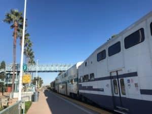 Track 2 Irvine Station