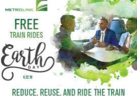 Metrolink-Free-on-Earth-Day