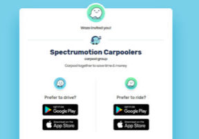 Spectrumotion Waze Carpool Group
