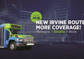 Irvine iShuttle Route 404E